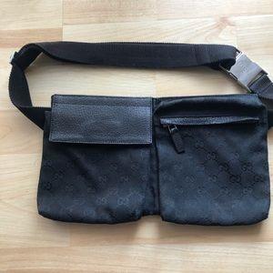 Waist bag Gucci black adjustable strap jet black